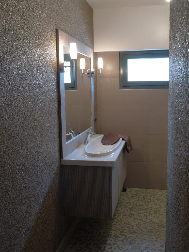 salle de bain baignoire douche meuble pau techniceau. Black Bedroom Furniture Sets. Home Design Ideas
