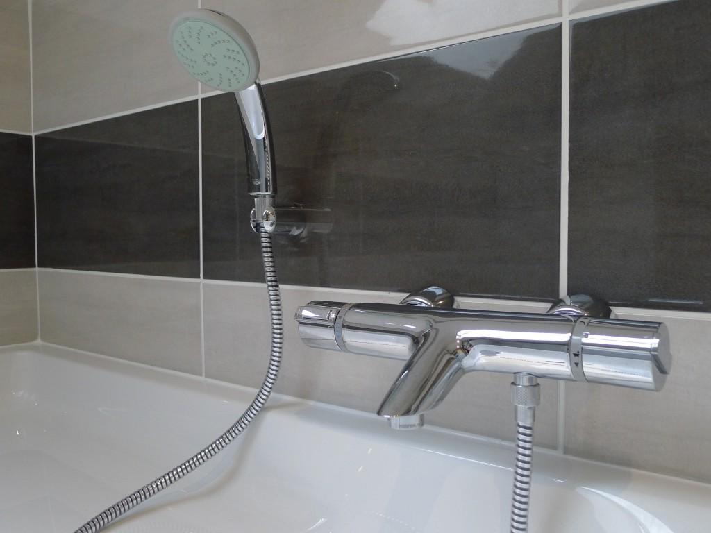 Salle de bain baignoire douche meuble pau techniceau for Siphon salle de bain pau